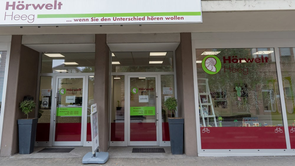 Hörgeräte bei der Hörwelt Heeg in Heidelberg-Weststadt